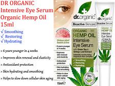 Hemp Oil Intensive Eye Serum 15ml - Dr Organic