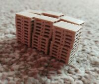Real Wood Pallets Model Railway Scenery 00 Gauge Euro Pallet 12 Stacks of 5