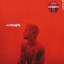 Justin Bieber - Changes CD w/ 1 of 2 Target Exclusive Posters Include