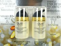 OLAY Total Effects Anti-Aging SPF 15 Moisturizer 2 x 50 mL, Fragance-free