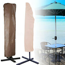 Outdoor Market Patio Umbrella Canopy Fit 6-11ft Waterproof Protection Cover