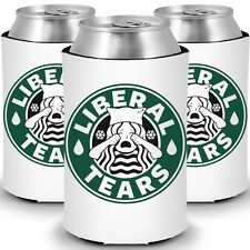 Liberal Tears MAGA Starbucks Parody Coolers for Cans + Bottles (3 Pack) …