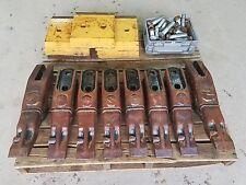NICE John Deere 744, 824 wheel loader cutting edges, teeth, and hardware