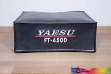 Yaesu FT-450D Radio Ham cubierta de polvo de aprobación con el logotipo de Yaesu dxcovers
