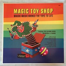 Vintage Magic Toy Shop, Where Music Brings The Toys To Life- LP Record Album