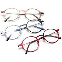 Retro Men Woman Rx Glasses Optical Eyeglass Frame Spectacles Round eyewear