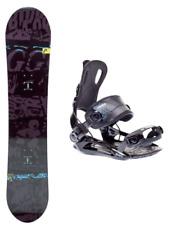 HEAD Evil Youth 118 Rowdy JR Kinder Snowboard Set mit SP Fastec Step-In Bindung