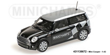 Minichamps 431138672 - Mini Cooper Clubman –2008 – Black Metallic –1:43