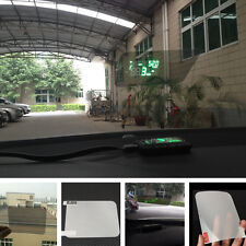 Universal HUD Head Up Display Reflective Film Without Mucilage Easy Removed pop
