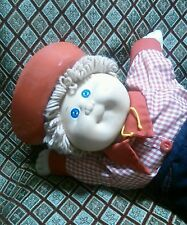 CABBAGE PATCH KIDS Boy Strawberry Blonde Blue Eyes Cowboy Sheriff Outfit 1985