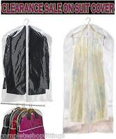 NEW GARMENT DRESS SUIT CLOTHES COAT COVER PROTECTOR TRAVEL ZIP BAG