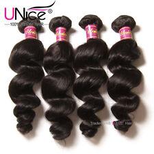 4 Bundles/400g Brazilian Loose Wave Human Hair 100% UNice Virgin Hair Extensions