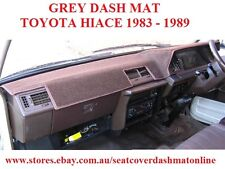 DASH MAT, DASHMAT, DASHBOARD COVER FIT TOYOTA HIACE  1983-1989, GREY