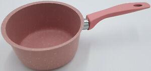 Kochtopf Aluminium Granit Brat Topf Pink Rosa Kochen Suppentopf Kochgeschirr