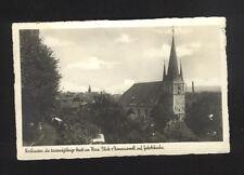 Ansichtskarte AK Nordhausen die tausendjährige Stadt am Harz  2.4.1942 selten