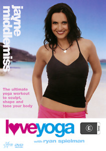 Jayne Middlemiss LOVE YOGA - RENOWNED BODY SCULPTING TONE & SHAPE WORKOUT DVD