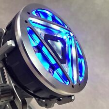 Roan 1/1 METAL LED Remote Control Arc Reactor For Iron Man MK XLII Cosplay New