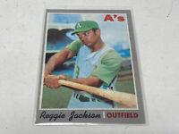 1970  TOPPS REGGIE JACKSON 140 Vintage baseball card