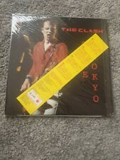 The Clash Take Tokyo, Limited Edition Red Vinyl Brand New Never Played.