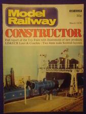 MODEL RAILWAY CONSTRUCTOR - March 1976 vol 43 #503