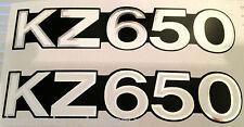 KAWASAKI KZ650 KZ650B kz650b1 kz650b2 kz650b3 latéral PANNEAU STICKERS