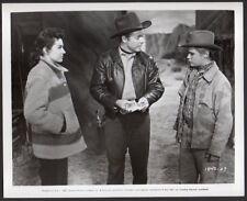 AUDIE MURPHY Diane Foster BRANDON deWILDE 1957 western VINTAGE ORIG PHOTO