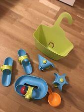 Haba badewannenspielzeug Kugelbahn mit Saugnäpfen für Kacheln