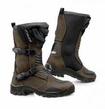 45 Stivali neri con caviglia regolabile per motociclista