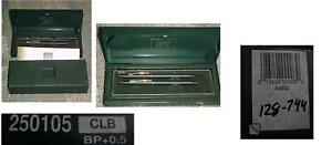 VINTAGE CROSS PEN PENCIL SET 250105 CLB BP+0.5 WITH PHAMPLET INNER & OUTER BOXES