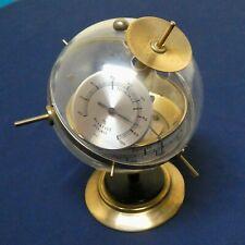 Sputnik Weather Station Vintage Germany Brass Desk Model
