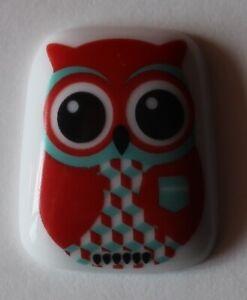 Fève Chouette Hibou Owl . animaux