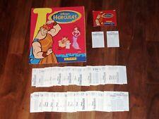 Disney's Hercules 1997 Complete Panini Sticker Album set, near-Empty Album &..