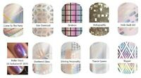 JAMBERRY NAIL WRAPS HOLOGRAPHIC DESIGNS COLOR CHANGING FULL SHEETS FREE SHIPPING