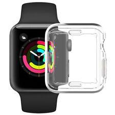 Custodia Cover TPU Protezione VETRO per Apple Watch Series 6 5 4 3 40/44/42/38