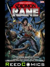 Solomon Kane The Original Marvel Years Omnibus by Robert E. Howard (2020)