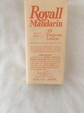 ROYALL MANDARIN ORANGE All Purpose Lotion 8oz/8.0 oz (240 ml) Splash NEW & SEAL