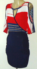 TRUE LIGHT,US RedWhiteBlueSlinkyKeyholeStretch SizeL NWoT