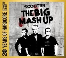 SCOOTER - 20 YEARS OF HARDCORE-THE BIG MASH UP  (2 CD)  23 TRACKS  TECHNO  NEW+