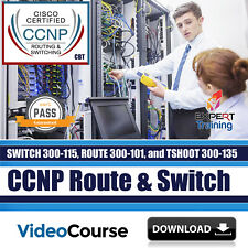 Cisco CCNP Routing and Switching TSHOOT Exams 13 Hours Video Course DOWNLOAD