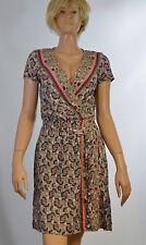 PROMOD Kleid Gr. 34 Sommerkleid, tailliert, Muster, Damen Bekleidung 2/18 M3