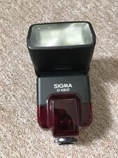Flash Sigma EF-430ST NAD for Nikon AF Electronic Flash TTL (Analogue) Flash