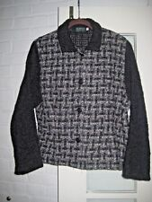 BLARNEY WOOLLEN MILLS IRELAND WOVEN WOOL JACKET LARGE