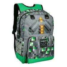 Minecraft Emerald Survivalist Grey Backpack