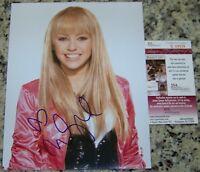 RARE EARLY FULL SIGNATURE! Miley Cyrus Signed Autographed 8x10 Photo JSA COA!