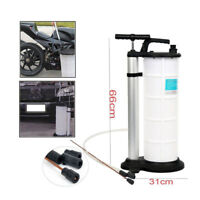 9L Fluid Evacuator Manual Oil Changer Hand Operated | Oil Change Fluid Extractor