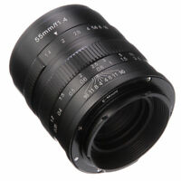 55mm F/1.4 Manual Focus Prime Lens fr Sony E-mount A5000 A5100 A6000 A6300 A6500