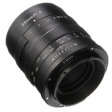 55mm F/1.4 Manual Focus camera Lens fr Sony E-mount A5000 A5100 A6000 A6300