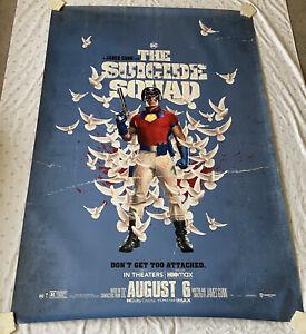 ORIGINAL The Suicide Squad 2 Movie Poster(W-48InX L-70 In)John Cena, Peacemaker