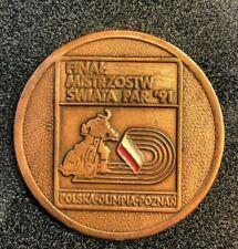 "2"" medallion final world championships par 1991 Polish Olympia Poznan"