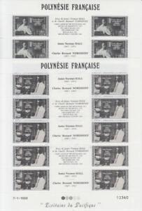 Französisch Polynesien: Michel-Nr. 497-498 postfrisch/** als Kleinbogensatz